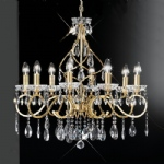 Chiffon 8 Arm Crystal Chandelier FL2159/8
