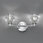 Raegan Chrome Double Wall Light TP2162/2