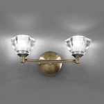 Raegan Bronze Double Wall Light TP2163/2