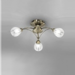 Chloris 3 Light Semi Flush Light