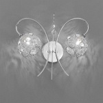 Orion Wall Light Polished Chrome FL2214/2