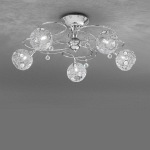 FL2214/5 Orion Semi Flush Ceiling