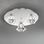 Starz Circular 3 Light Semi Flush