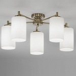 Feya 5 Arm Downwards Bronze Semi-Flush Light TP2253/5