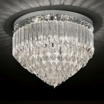 Valentina Crystal Semi Flush Light FL2268/6