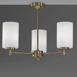 Feya Bronze 3 Lamp Semi Flush Light TP2272/3