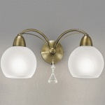 Thea Double Bronze Wall Light FL2278/2