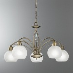Thea Multi-Arm Bronze Pendant FL2278/5