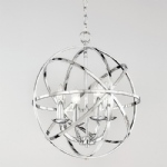 Rhea 4 Light Chrome Modern Ceiling Pendant TP2280/4