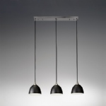 Vetross 3 Light Bowl Pendant