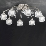 Jura 8 Light Flush Ceiling Fitting FL2295/8