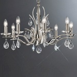 Willow Eight Light Crystal Multi Arm