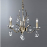 Willow Triple Ceiling Light FL2299/3