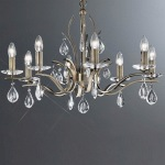 Willow Crystal Eight Light Multi Arm FL2299/8