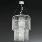 Charisma 4 Light Crystal Pendant FL2310/4
