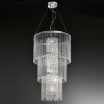 FL2310/6 Charisma Crystal 6 Light Pendant