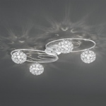 Spirelle Semi Flush Ceiling Light FL2325/4