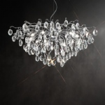 FL2326/13 Wisteria Crystal Pendant Light
