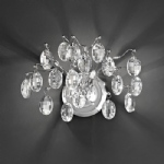 FL2326/2 Wisteria Crystal LED Wall Light