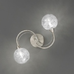 Fraya Satin Nickel Double Wall Or Ceiling Light TP2327/2