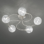 Fraya 5 light semi flush ceiling light