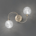 gyro 2 light wall semi flush lights