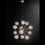 Paola Chrome 12 Arm Pendant Light TP2329/12