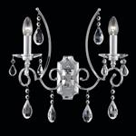 Cinzia Crystal Double Wall Light FL2330/2