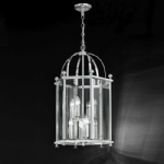 Sasha 8 Light Polished Chrome Ceiling Pendant Lantern PJ7008/8