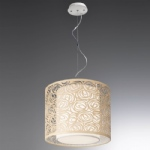 Abstract Ceiling 4 Light Pendant PCH107