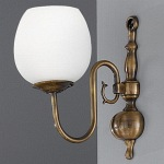 Halle Single Wall Light PE7931/715