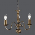 Flemish 3 Light Ceiling Fitting PE7933