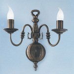 Halle Double Wall Light PE7942