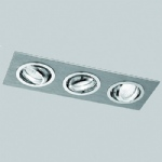 Chrome Recessed Downlight RF254