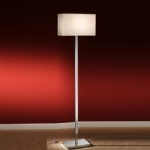 Chrome Modern Floor Lamp RP154/9881