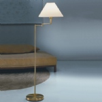SL642 Base and Shade Pivot Floor Lamp