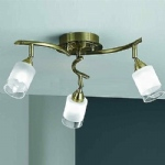 Campini 3 Arm Ceiling Fitting