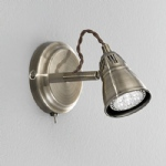 Rustica Single spot wall light SPOT8951