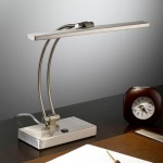 Led Satin Nickel Task Table Lamp TL892