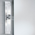 Chrome Bathroom Wall Light WB534