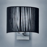 Panache - Black Wall Light WB901EL/1075