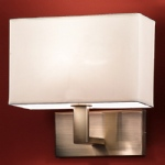 Bronze Single Wall Light QF979/9892