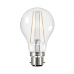 Clear GLS LED 6.2W 2700K Warm White B22 Non-Dimmable 26-42-01