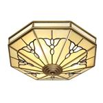 Gladstone Antique Brass Flush 4 Light SN03FL46
