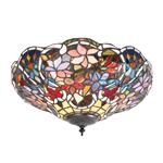 Sullivan 2 Lamp Tiffany Ceiling Light 70709