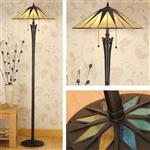 Dark Star Tiffany Floor Lamp 64041