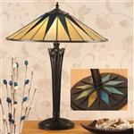 Dark Star Tiffany Table Lamp 64045