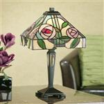 64386 Willow Small Tiffany Table Lamp