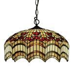 Vesta Triple Tiffany Pendant Light 64375