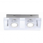 Stefan Double LED Ceiling Light 11823-17